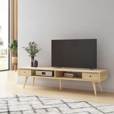 Dreiling Mid Century Modern Wood TV Stand - Wayfair