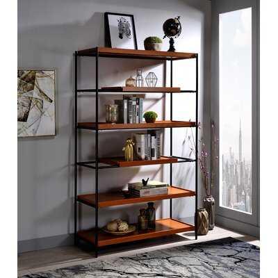 Bevan Etagere Bookcase - Wayfair