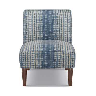 Slipper Chair | Shibori - The Inside