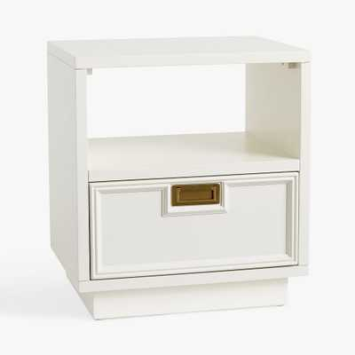 Kenan Nightstand, Simply White, In-Home - Pottery Barn Teen