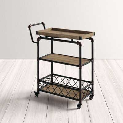 Edinburgh Bar Cart - AllModern