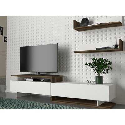 "Chantae Floating TV Stand for TVs up to 55"" - Wayfair"