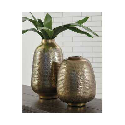 Rezendes Miette 2 Piece Table Vase Set - Wayfair