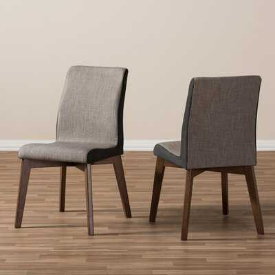 Collazo Upholstered Side Chair in Dark Walnut - Wayfair