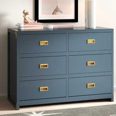 Alexandra 6 Drawer Double Dresser - AllModern