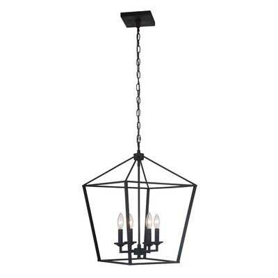 4 - Light Square / Rectangle Chandelier - Wayfair