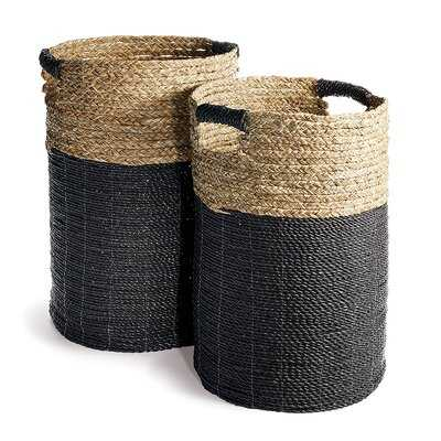 Hamper Wicker/Rattan Basket - Wayfair