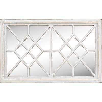 One Allium Way & Co.® Fairfield Vintage Farmhouse Window Mirror - Wayfair