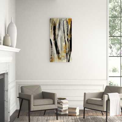 "Chelsea Art Studio 'Neutral Expression II' Graphic Art Print Format: Outdoor, Size: 60"" H x 30"" W - Perigold"