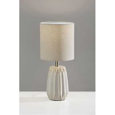 "Truce Ceramic Accent 14"" Table Lamp - AllModern"