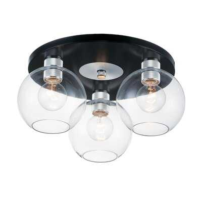Lavalle 3-Light Flush Mount - Wayfair
