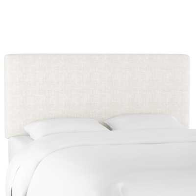Queen Sawyer Headboard in Zuma White - Third & Vine