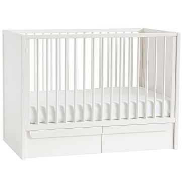 Gemini, Storage Crib, White - West Elm