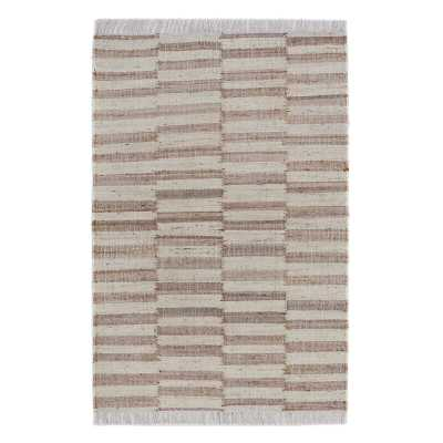 LOOMY Handmade Braided Jute/Sisal Beige Area Rug Rug Size: Rectangle 12' x 15' - Perigold