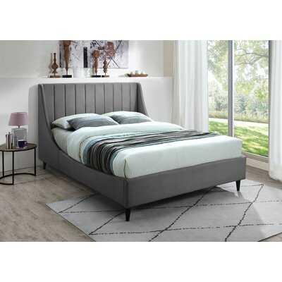 Bernan Upholstered Low Profile Platform Bed - Wayfair