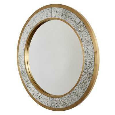 Dhruv Metal Clad Mercury Glam Accent Mirror - Wayfair