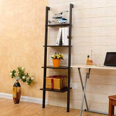 "Chauntel 62.99"" H x 12.2"" W 4-Tier Ladder Storage Rack Shelves - Wayfair"