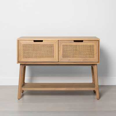 Wood & Cane Console Table with Drawers - Hearth & Hand with Magnolia - Target