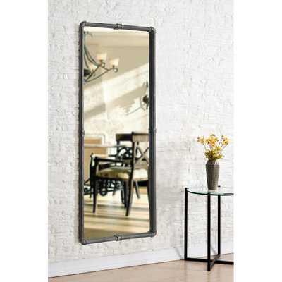 "Steam Fitter Vintage Metal 24"" x 60"" Floor Mirror - Style # 83R18 - Lamps Plus"