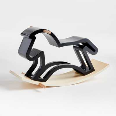 Modern Heirloom Rocking Horse - Crate and Barrel