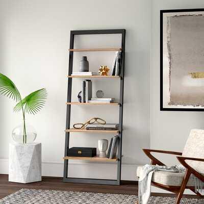 """Theophanes 73.6"""" H x 28"""" W Ladder Bookcase - Wayfair"""