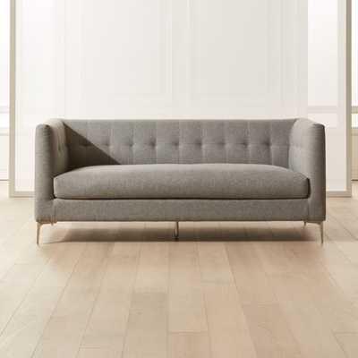 Holden Grey Tufted Sofa - CB2