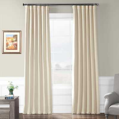 Freemansburg Room Darkening Rod Pocket Single Curtain Panel - Birch Lane
