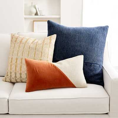 Copper & Midnight Pillow Cover Set, Set of 3 - West Elm