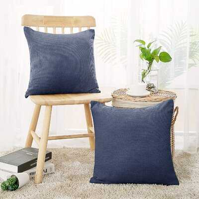 Caysee Square Velvet Pillow Cover - Wayfair