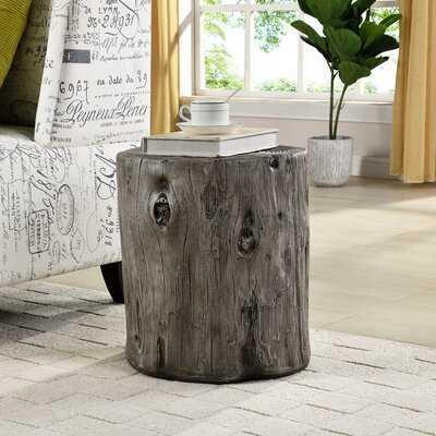 Gosnold Tree Stump End Table - Wayfair