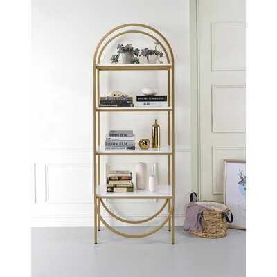 Ahmad Rectangular Etagere Bookcase - Wayfair
