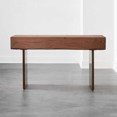 Austin Live Edge Console Table - CB2