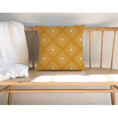 Burst 2 Square Pillow Cover and Insert - Wayfair