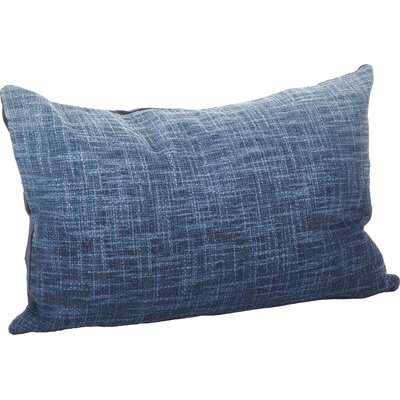 Hermínio Ombre Cotton Down Lumbar Pillow - Birch Lane
