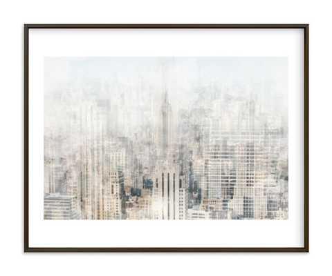 Big Apple Blur Art Print - Minted