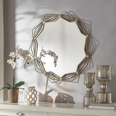 Preece Modern and Contemporary Accent Mirror - Wayfair