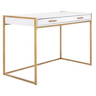 Elodie 1 Drawer Desk - Wayfair