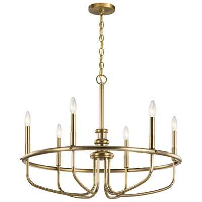 KICHLER Capitol Hill 6-Light Classic Bronze Chandelier - Home Depot