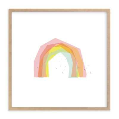 Rainbow Play Children's Art Print - Minted
