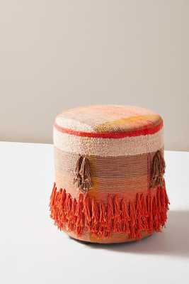 All Roads Leilani Stool By All Roads Design in Red - Anthropologie