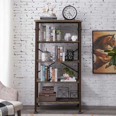 """Esters 36.61"""" H x 18.5'' W Etagere Bookcase - Wayfair"""