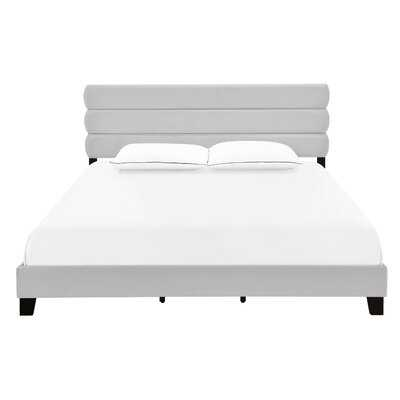 Romola One Box Slat Upholstered Standard Bed - Wayfair