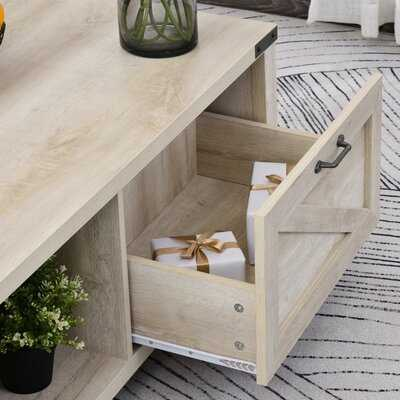 4 Legs Coffee Table with Storage - Wayfair