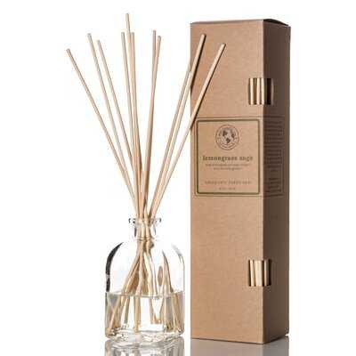 Lemongrass Sage Scented Aromatic Diffuser - Birch Lane