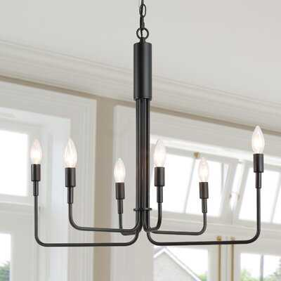 Chere 6 - Light Candle Style Classic Chandelier - Wayfair