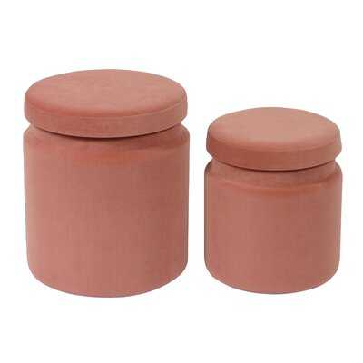 Kris Macgregor Storage Ottomans - Set Of 2 - Wayfair