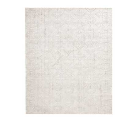 Avery Easy Care Rug, 8 x 10', Ivory - Pottery Barn