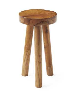 Teak Stool, Large - Serena and Lily