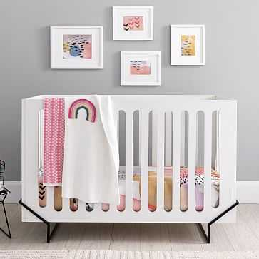 Ellis, Convertible Crib, Simply White WB - West Elm