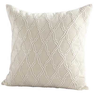 Pillow Cover - 18 x 18 - Onyx Rowe
